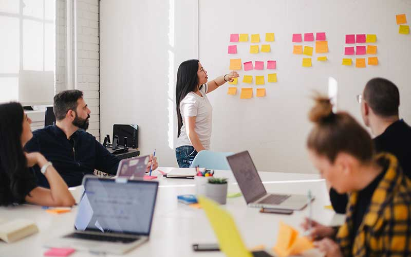avaliação de equipas feedback
