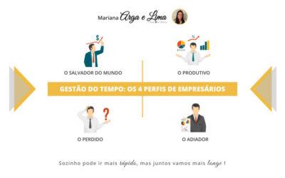 Gestão do tempo: os 4 perfis de empresários